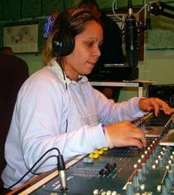 2006: Laura Lawrence on-air