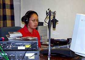 Angela, On Air [Saint Helena Island Info:Saint FM (2004-2012)]