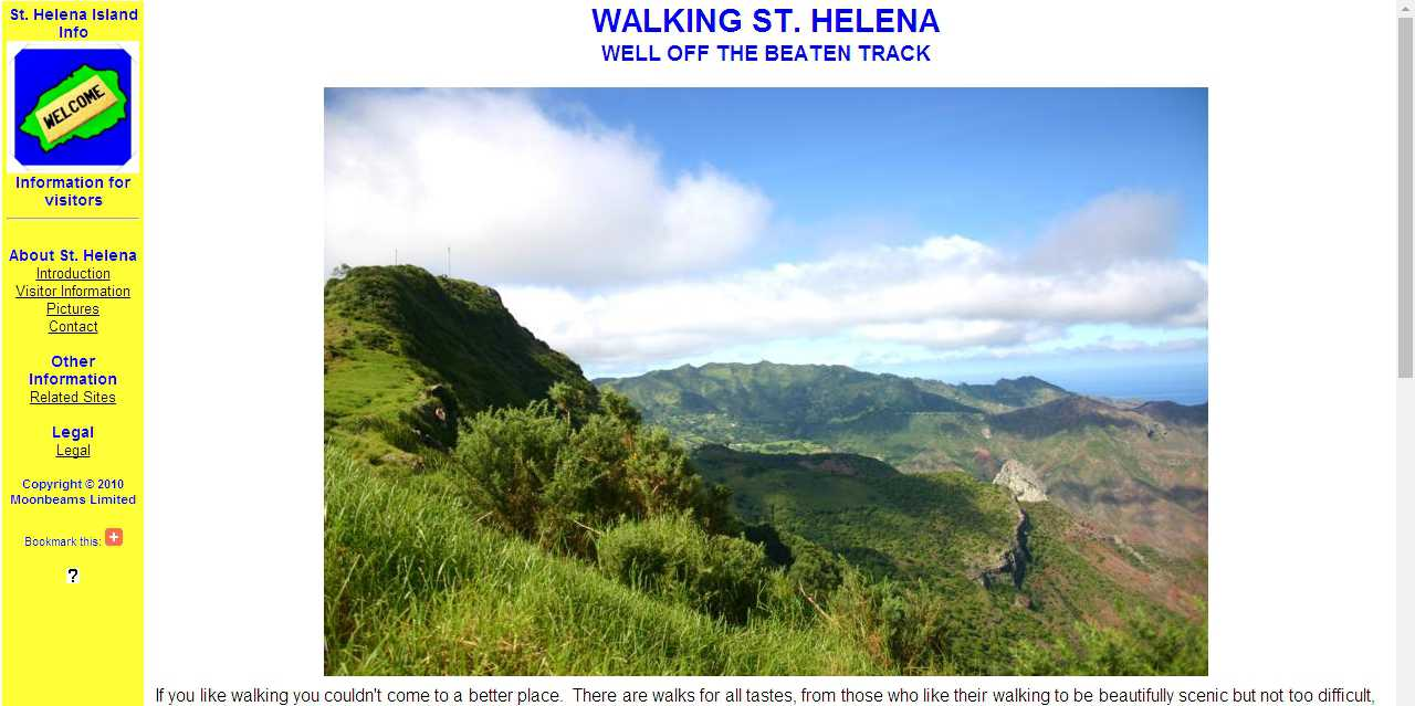 June 2010 Saint Helena Island Info About This Site