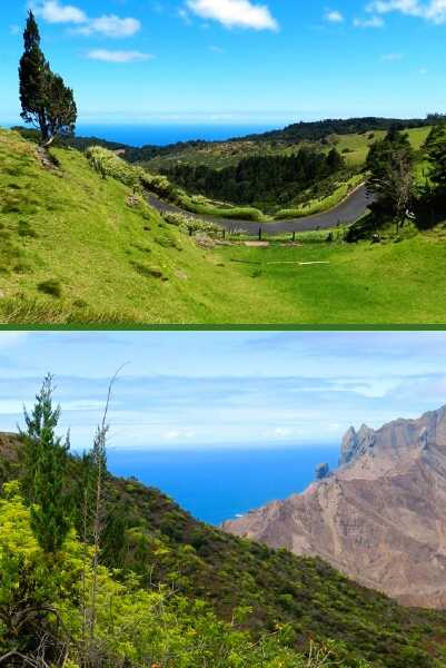 Sandy Bay views Saint Helena Island Info