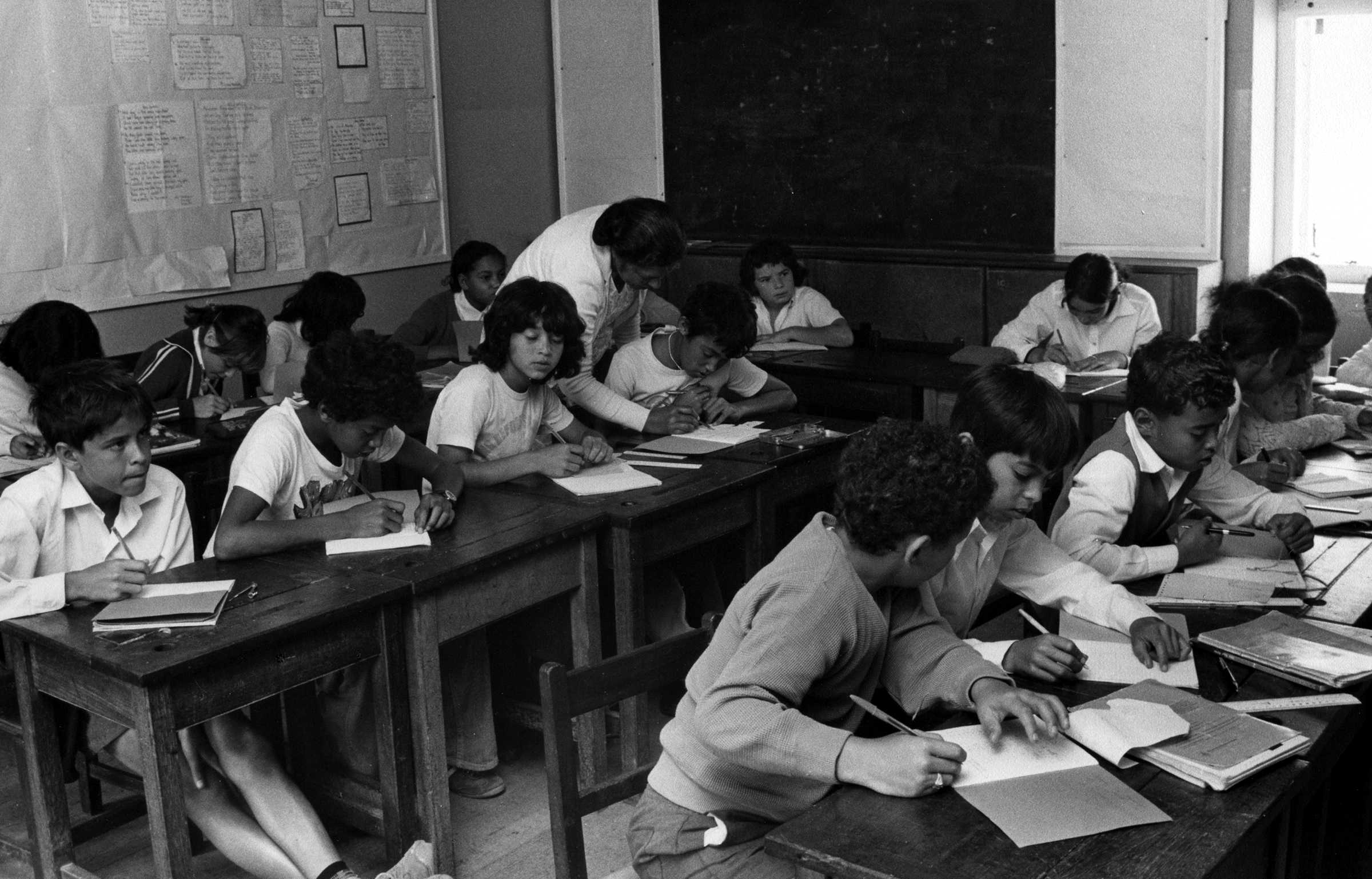 Unidentified Primary School late 1970s Saint Helena Island Info Education
