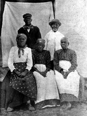 Liberated Africans Saint Helena Island Info Historic Images