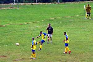 Football on Francis Plain Saint Helena Island Info Sport in St Helena