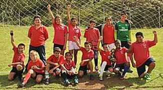 Pilling School Team Saint Helena Island Info Sport in St Helena