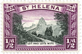 Postage Stamp : Lot & Lot's Wife