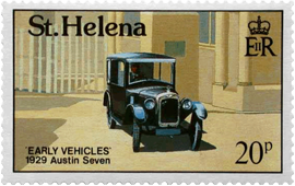 St Helena's first car
