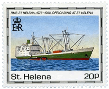 First RMS on a postage stamp