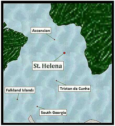 St Helena's strategic position makes it an ideal stopover for calls by yachts