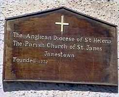 St. James' sign