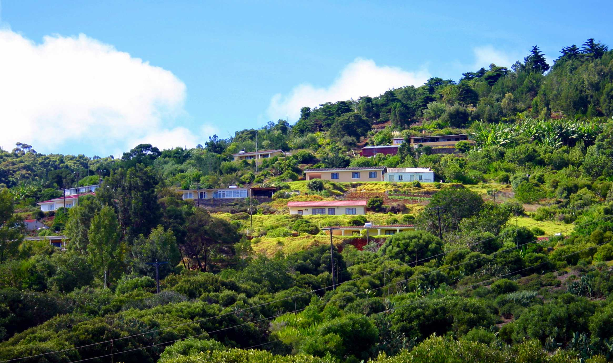 Houses in St Paul's Saint Helena Island Info Could you live here?