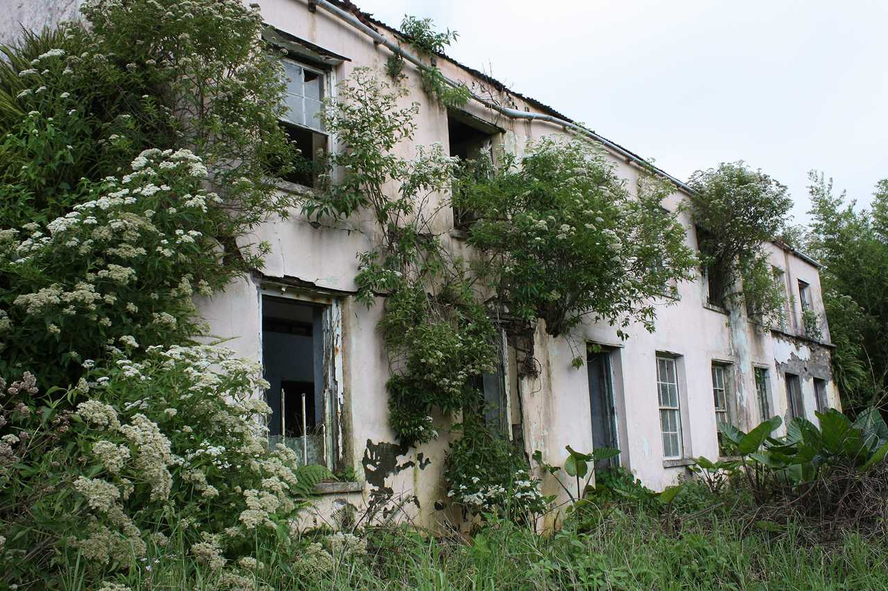 Lost and almost-lost Buildings Saint Helena Island Info