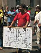 SHELCO protest, 2003 05