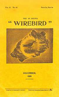 Wirebird cover, December 1959