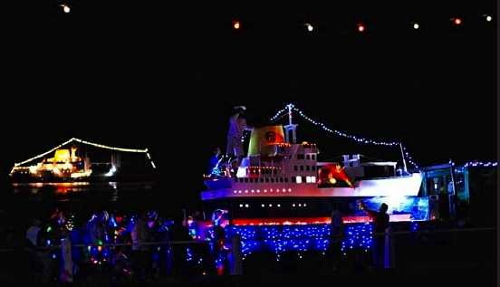 Festival of Lights Saint Helena Island Info Christmas Images