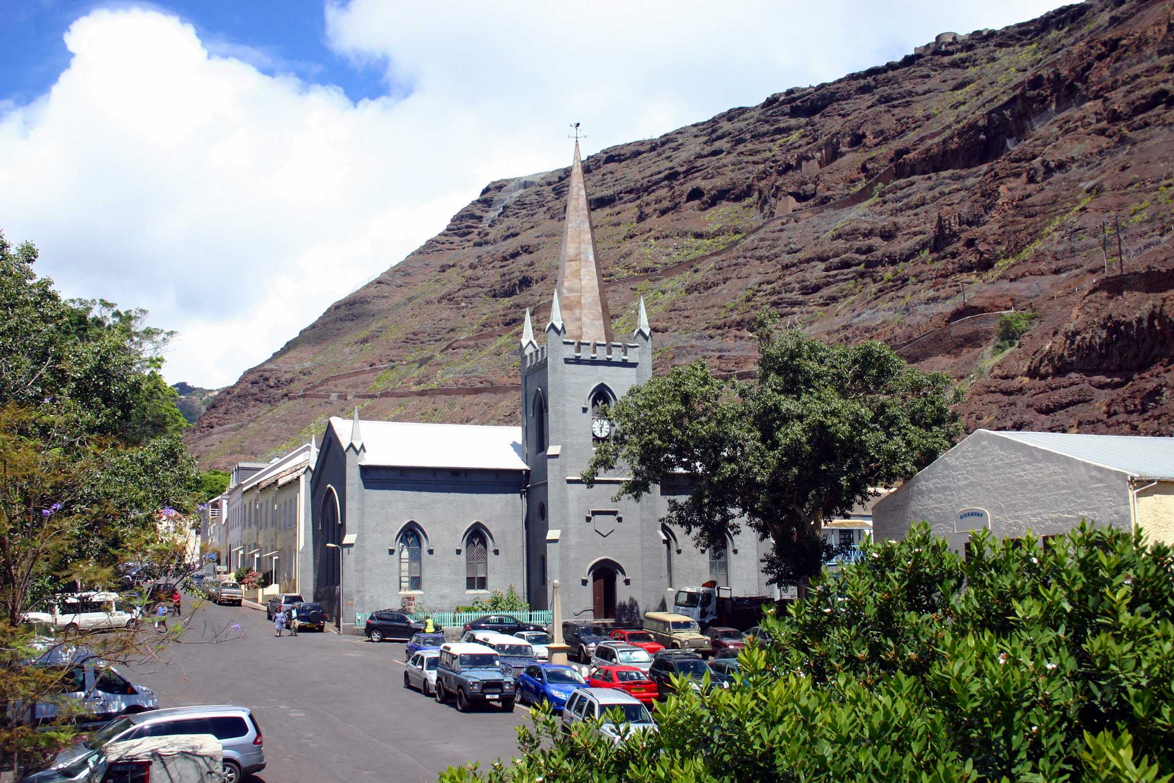 saint helena island catholic singles Jamestown, st helena — the gates of chaos, lot's wife, old woman's valley, man and horse cliffs these are the names of places on st helena, an otherworldly atlantic ocean island far from.