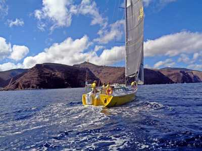 Black Cat, off St Helena in The Governor's Cup